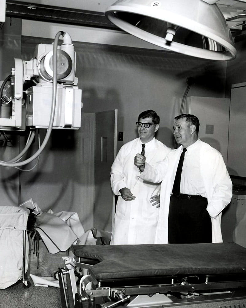 Benjamin Kaufman and Hymer Friedell, MD