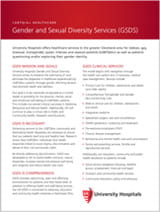 Gender and Sexual Diversity Services (GSDS)
