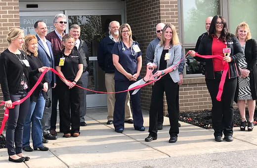 UH Andover Health Center ribbon cutting ceremony