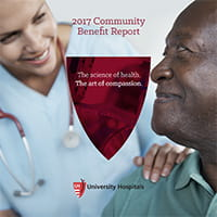 2017 Community Benefit Report Cover
